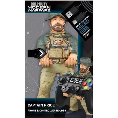 Держатель Exquisite Gaming для телефона или контроллера Call of Duty: Modern Warfare - Captain Price (20 см)