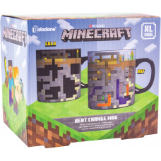 Кружка Minecraft - Level (Heat Change) (550 мл)