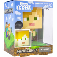Светильник Minecraft - Icons - Alex (3D Character Light)