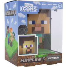 Светильник Minecraft - Icons - Steve (3D Character Light)
