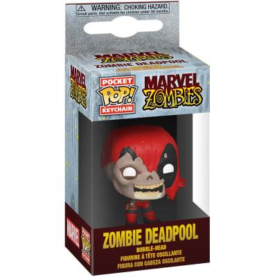 Брелок Funko Marvel Zombies - Pocket POP! - Zombie Deadpool 49131-PDQ (4 см)