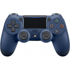 PS4: Контроллер игровой беспроводной темно-синий (Dualshock 4 Midnight Blue v2: CUH-ZCT2E: SCEE)
