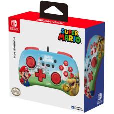 Геймпад проводной HORI HORIPAD MINI для NS (Super Mario)