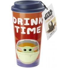 Стакан дорожный Star Wars: The Mandalorian - The Child (Drink Time) (420 мл)