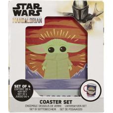 Набор подставок под напитки Star Wars: The Mandalorian - The Child (Polaroids)