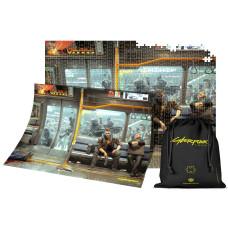 Пазл Cyberpunk 2077 - Night City: Metro