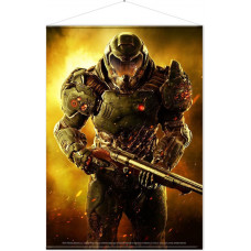 Постер DOOM: Eternal - Doom Slayer (77x100 см)