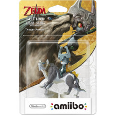 Интерактивная фигурка amiibo - The Legend of Zelda: Twilight Princess - Wolf Link