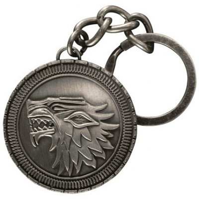 Брелок Noble Collection Game of Thrones - Stark Shield XT0034 (4.5 см)
