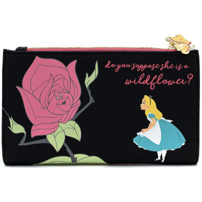 Кошелек Loungefly Alice in Wonderland - Flowers (AOP) WDWA1206