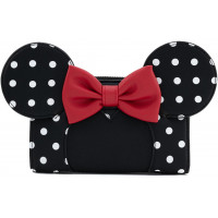 Кошелек Micke Mouse - Minnie Mouse witch Red Bow & White Polka Dot (AOP)