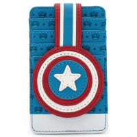 Держатель для карт Marvel - Captain America Debossed Shield
