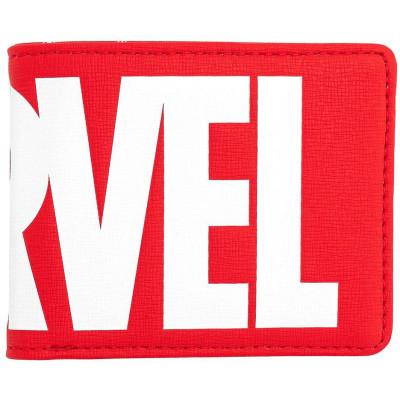 Кошелек Loungefly Marvel - Brick Marvel Logo (Red) MVWA0108