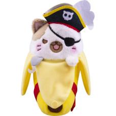 Мягкая игрушка Bananya - Pirate Bananya (18 см)