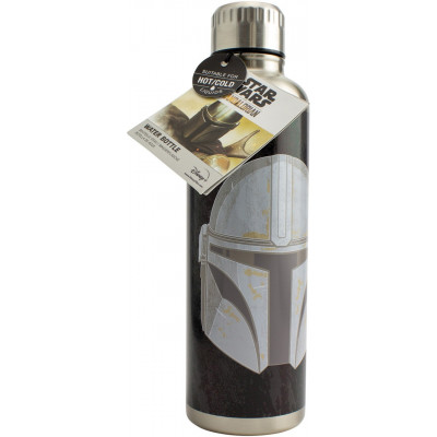 Термобутылка Paladone Star Wars: The Mandalorian - The Mandalorian Symbols PP7361MAN (500 мл)