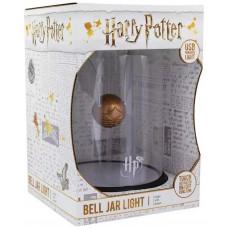 Светильник Harry Potter - Golden Snitch (Bell Jar Light)