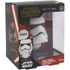 Светильник Star Wars Episode IX The Rise of Skywalker - Icons - First Order Stormtrooper (3D Character Light)