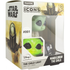 Светильник Star Wars: The Mandalorian - Icons - The Child (3D Character Light)