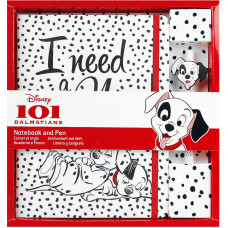 Записная книжка 101 Dalmatians - I Need A Nap (+ручка)
