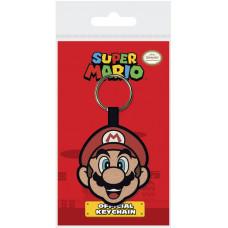 Брелок Super Mario - Mario Face V2 (6 см)