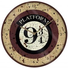 Часы настенные Harry Potter - Platform 9 3/4