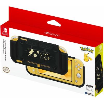 Корпус HORI Защитный Hybrid System Armor для NS Lite (Pikachu Black & Gold Edition) NS2-077U
