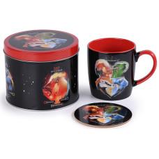 Подарочный набор Harry Potter - Magical Crests (кружка / подставка под напитки / банка)