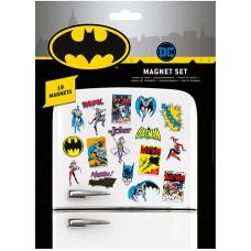 Набор магнитов DC Comics - Batman Retro (19 шт)