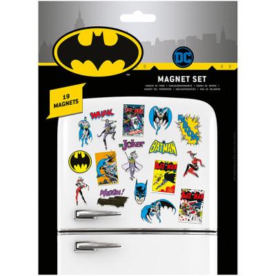 Набор магнитов Pyramid DC Comics - Batman Retro (19 шт) MS65110
