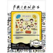 Набор магнитов Friends - Chibi (21 шт)
