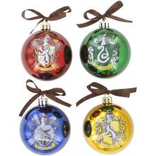 Набор ёлочных шаров Harry Potter (4 шт)