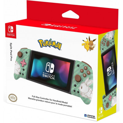 Набор контроллеров HORI Split Pad Pro для NS (Pikachu & Eevee Edition) NSW-296U