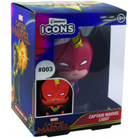 Светильник Captain Marvel - Icons - Captain Marvel (3D Character Light)