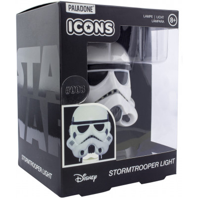 Светильник Paladone Star Wars -  Icons - Stormtrooper (3D Character Light) PP6383SW