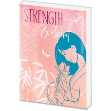Записная книжка Mulan - Strength & Spirit