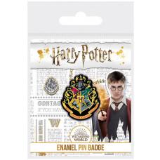 Значок Harry Potter - Hogwarts Shield