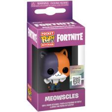 Брелок Fortnite - Pocket POP! - Meowscles (4 см)