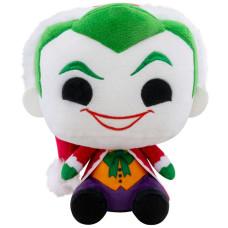 Мягкая игрушка DC Comics - Santa Joker (18 см)