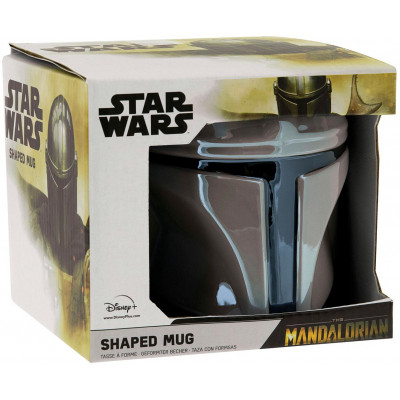 Кружка Paladone Star Wars: The Mandalorian - Mandalorian Helmet PP7343MAN (650 мл)