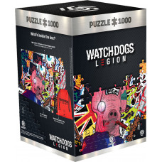 Пазл Watch Dogs: Legion - Pig Mask
