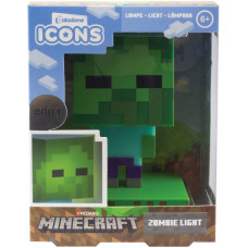 Светильник Minecraft - Icons - Zombie (3D Character Light)