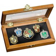 Набор значков Harry Potter - House Crest (5 шт)