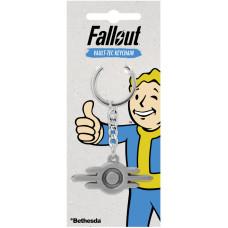Брелок Fallout - Vault-Tec Logo (4 см)
