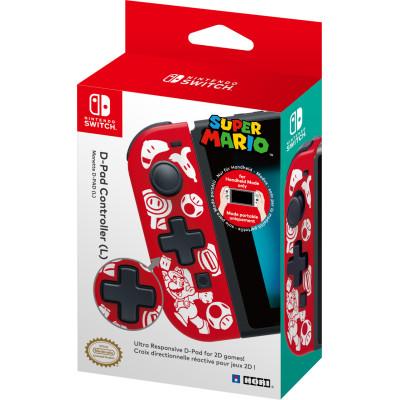 Контроллер HORI левый Joy-Con с D-pad для NS (Super Mario - New Design) NSW-151U