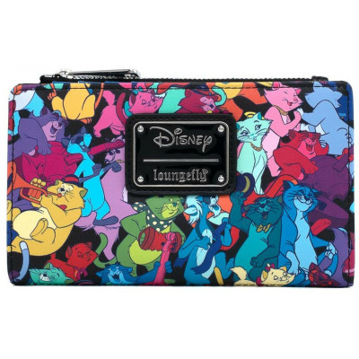 Кошелек Loungefly The Aristocats - Jazzy Cats (AOP) WDWA1485