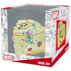 Кружка Marvel - Thanos Infinity Gauntlet (350 мл)