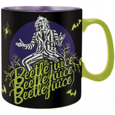 Кружка Beetlejuice - It's Show Time! (Heat Change) (460 мл)