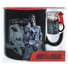 Кружка Metal Gear Solid - Solid Snake (Heat Change) (460 мл)