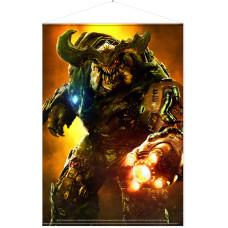 Постер Doom (2016) - Cyberdemon (77x100 см)