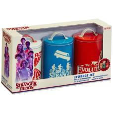 Набор контейнеров для хранения продуктов Stranger Things - Silhouette V2
